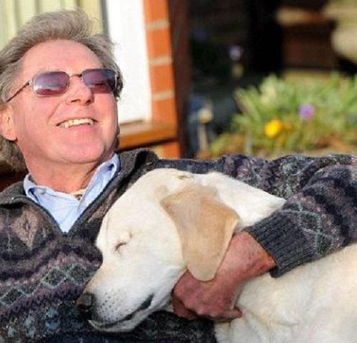 Незрячий чоловік і його сліпий пес