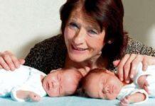 Жінка народила близнюків