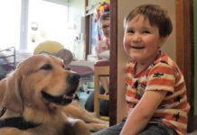 Собака Лео і щасливий Оскар