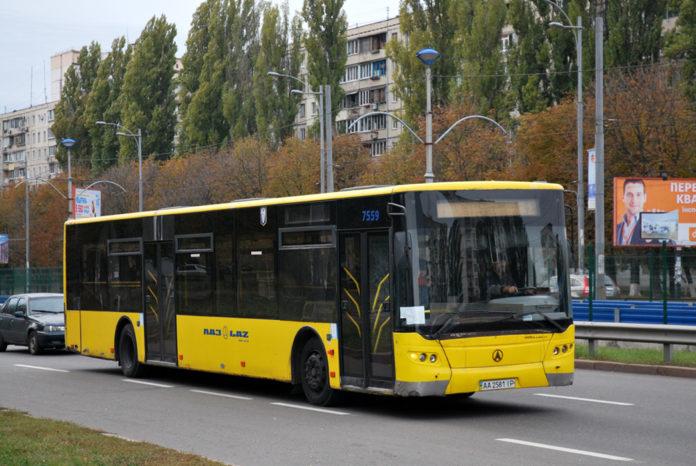 Киевские автобусы