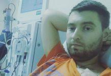 Максим в лікарні
