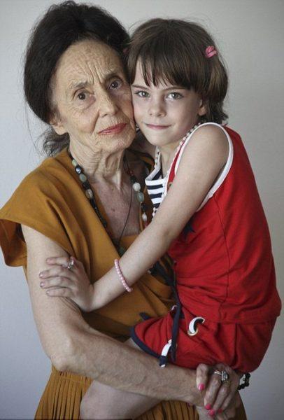 Адріана та її дочка Еліза