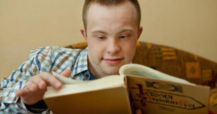 Украинец с синдромом Дауна