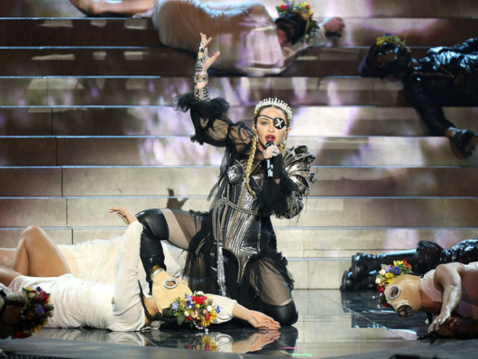 Мадонна предупреждает