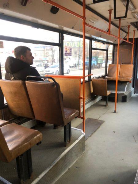 Начало маршрута автобуса №220