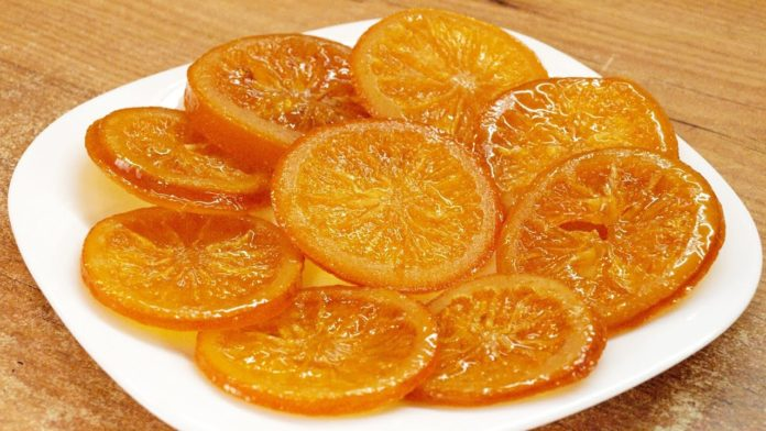 Конфеты из апельсина