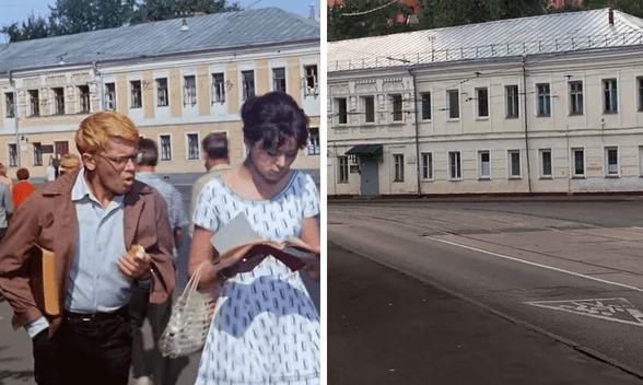 Читают конспект на площади