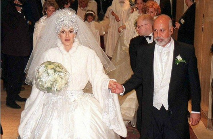 Селин Дион и Рене Анжелил