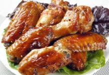 Курячі крильця у соусі Теріякі