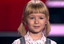 Ярослава Дегтярева на шоу Голос.Дети