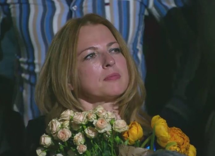 Жена Андрея Кузьменко Светлана