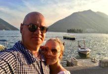 Ксенія Кошова з чоловіком