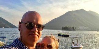 Ксения Кошевая с мужем