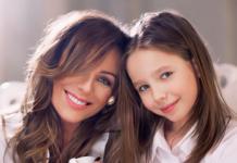 Юлія Началова з донькою Вірою