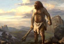 Неандерталець на полюванні
