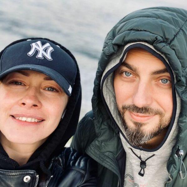 Елена Кравец с мужем Сергеем