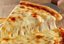 Рецепт сирної піци