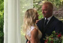 61-річна жінка вдруге вийшла заміж