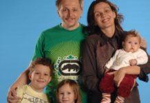 Ігор Пелих з сім'єю
