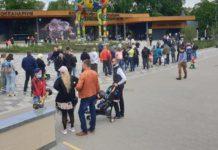 Черга в зоопарк