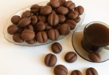 Рецепт печива Кавові зерна