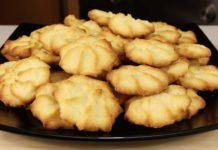 Рецепт простого пісочного печива