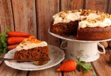 Рецепт пирога з морквою і волоськими горіхами