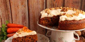 Рецепт пирога с морковью и грецкими орехами
