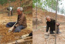 Китаєць позбувся обох ніг, але сам виростив цілий ліс