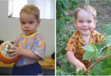 Фото ребенка до и после усыновления