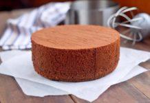 Простий рецепт шоколадного бісквіта