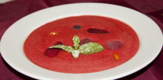 Малиновый суп: простой рецепт