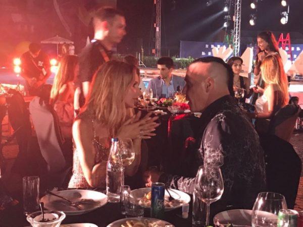 Светлана Лобода и Тилль Линдеманн в Баку