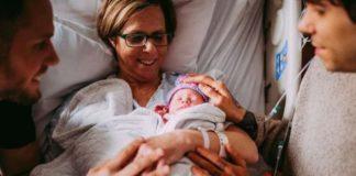 61-летняя женщина стала суррогатной мамой для своего сына