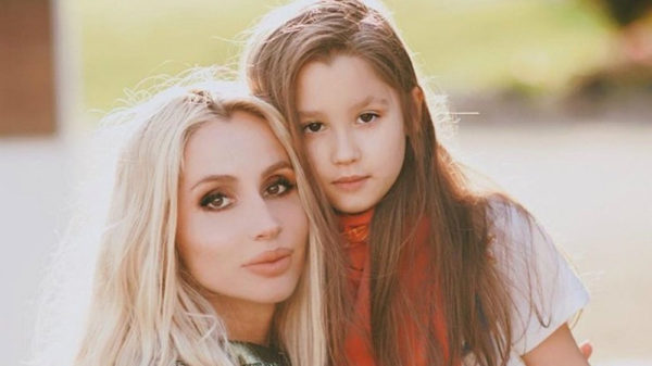 Светлана Лобода и дочка Евангелина