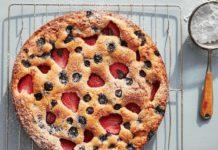 Рецепт тіста на кефірі для ягідного пирога