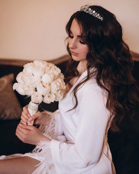 Мария-Барбара в день свадьбы