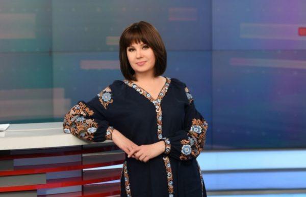 Украинская телеведущая Алла Мазур