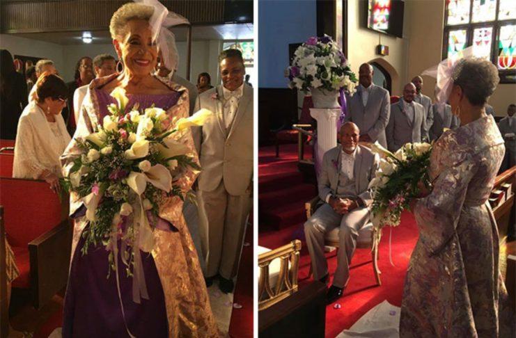 86-летняя бабушка вышла замуж