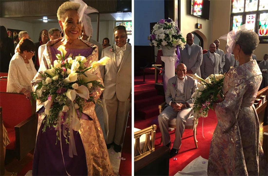 Свадьба пенсионеров