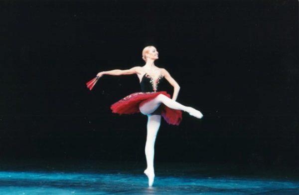 Анастасия Волочкова на сцене Большого театра