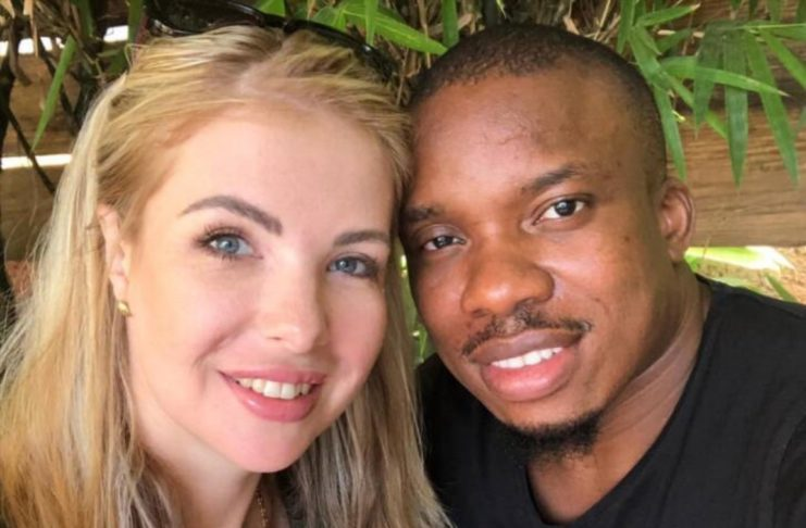 Россиянка вышла замуж за нигерийца
