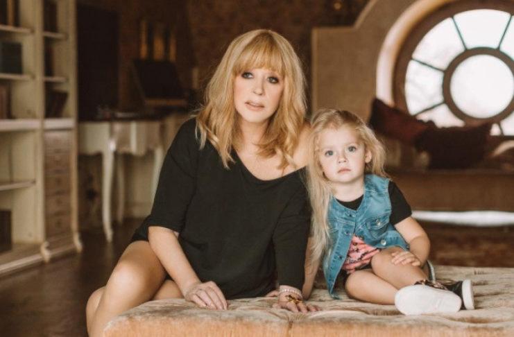 Алла Пугачева с дочкой Лизой