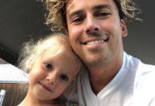 Максим Галкін з донькою Лізою