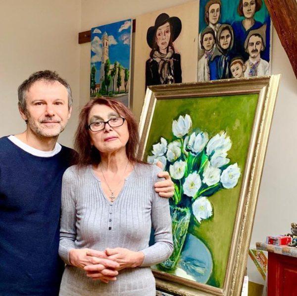 Святослав Вакарчук с мамой