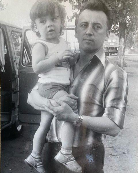 Максим Галкин с папой
