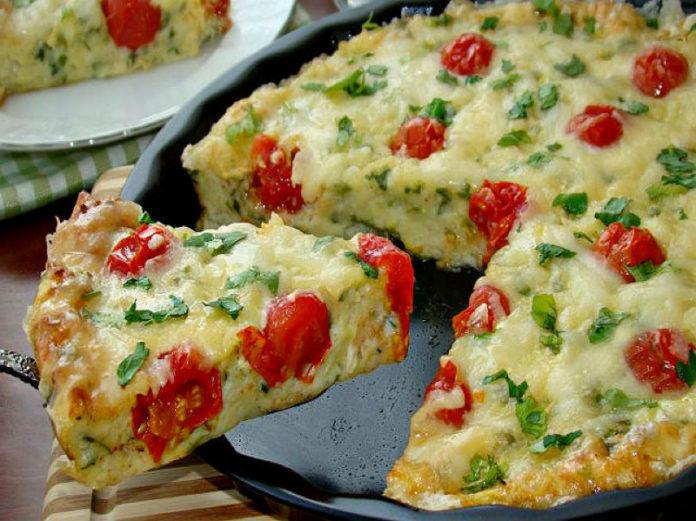 Рецепт кабачкової піци від Юлії Висоцької