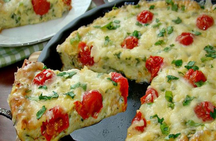 Рецепт кабачковой пиццы от Юлии Высоцкой