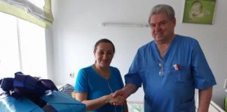 Украинка родила 16-го ребенка