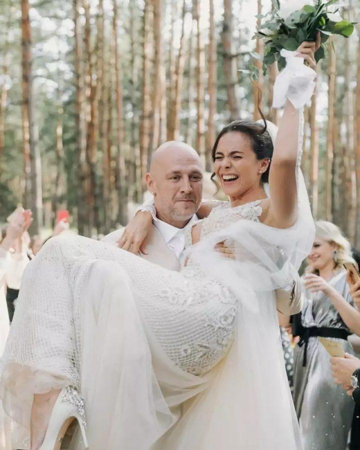 Настя Каменских и Алексей Потапенко, свадьба, 2019 год